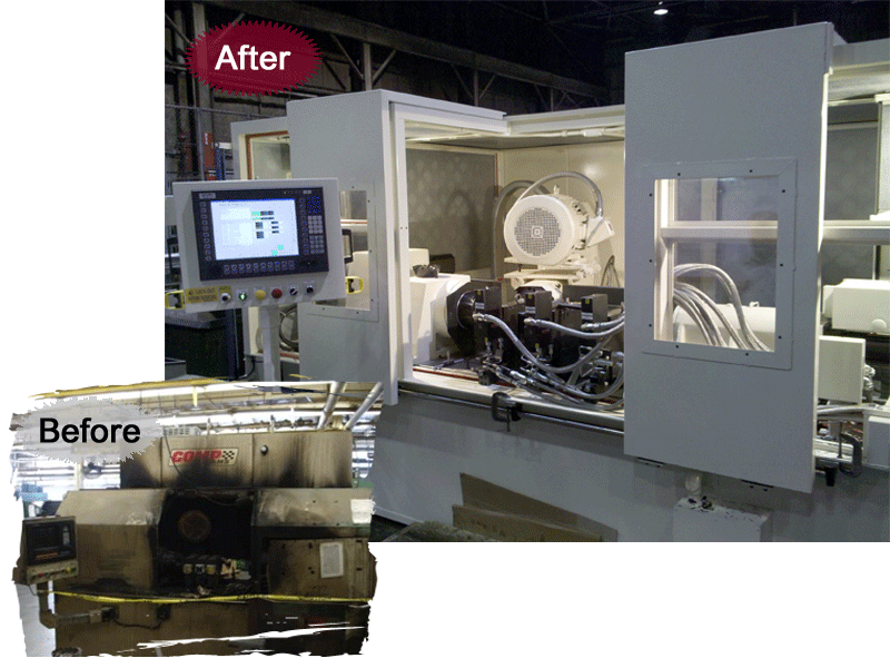 Retrofitting Services Integrated Industrial Technologies Inc