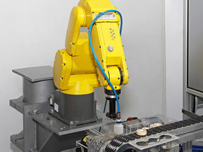 Industrial robotic system installation